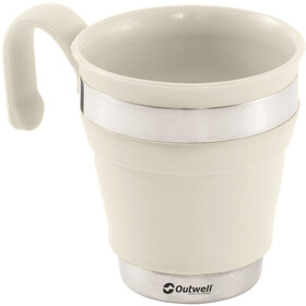 Outwell Collaps Gobelet, cream white